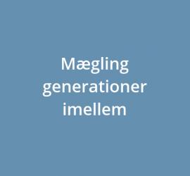 Mægling generationer imellem